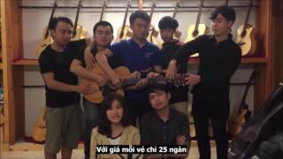 CLB Guitar Sinh Viên Đà Nẵng - 5 Người Cùng Chơi 1 Cây Đàn (Mùa Đông Yêu Thương 3)