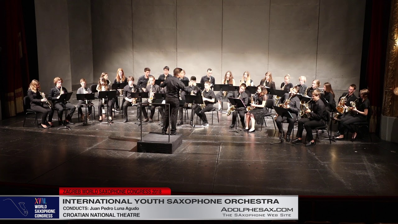 1   Youth Saxophone Orchestra   XVIII World Sax Congress 2018 #adolphesax
