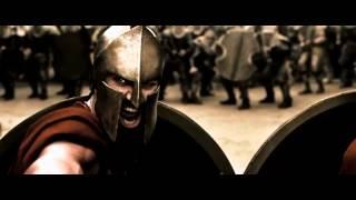 300 Спартанцев клип с песней