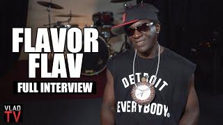 Flavor Flav on Public Enemy, Flavor of Love, Drug Addiction, Prison (Full Interview)