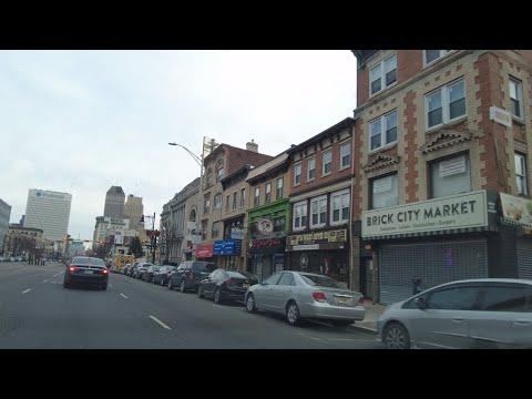 City of Newark, New Jersey. Sunday morning,