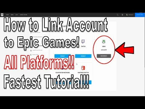 Fortnite - How to Link Your PS4, Xbox, Twitch, or Switch ...