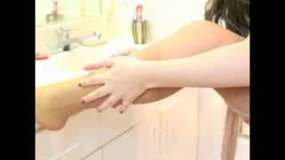 Como cuidar tus medias de nylon (English subtitles)