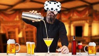 Virtual Reality Bartender Dwarf! - Taphouse VR Gameplay - VR HTC Vive