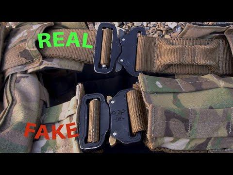 Cobra Buckles - Real vs Fake