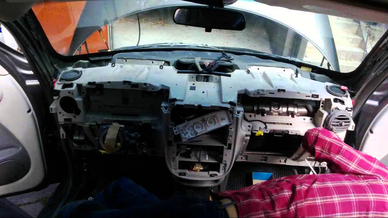 maxresdefault pt cruiser leaking heater core youtube 2006 PT Cruiser Fuse Box Layout at n-0.co