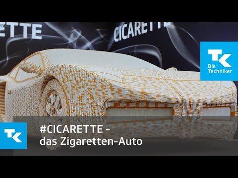 #CICARETTE - das Zigaretten-Auto als Argument fürs Nichtrauchen