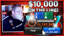 CAN YOU EVER FOLD POCKET JACKS IN THIS SPOT!? $10,000 FOR 1ST PLACE!!!