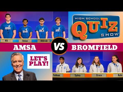 High School Quiz Show - Advanced Math & Science Academy vs. Bromfield (807)
