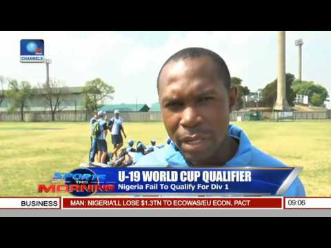 Sports This Morning: Nigeria Beat Tanzania By Nine Wickets
