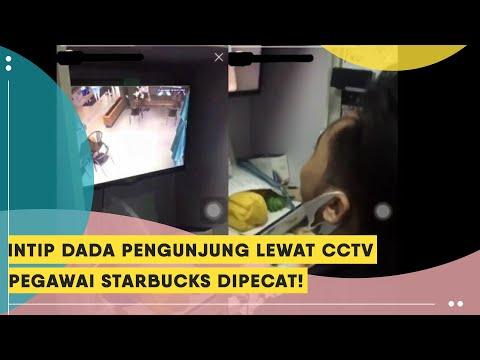 Viral Video Intip Payudara Pengunjung Lewat CCTV, Karyawan Starbucks Ini Dipecat
