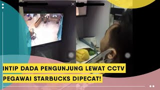 Viral Video Intip Payudara Pengunjung Lewat CCTV, Karyawan ...