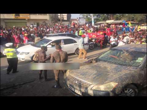 Nyoka wa mganga 'awanasa' wezi wa gari Mombasa