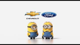Chevrolet vs Ford Minions Style (Funny Video)