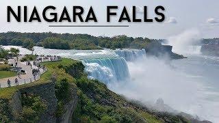 Niagara Falls Travel Vlog || Maid of the Mist Boat tour