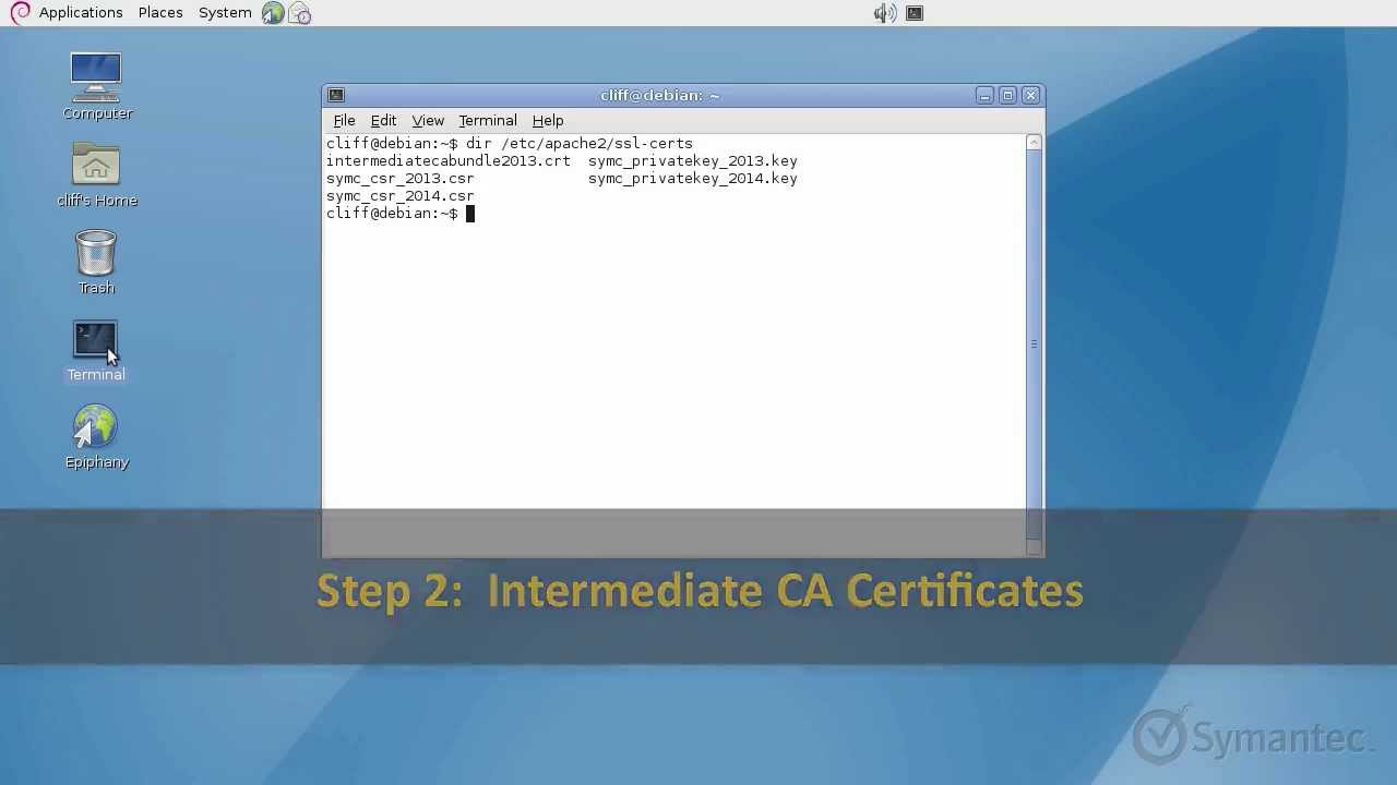 Support Tutorials Installing An Ssl Certificate For Apache Servers