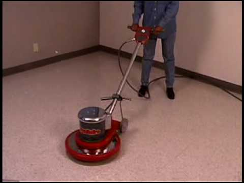 Sc6010 Floor Machine Floor Buffer Floor Scrubber Polisher Youtube