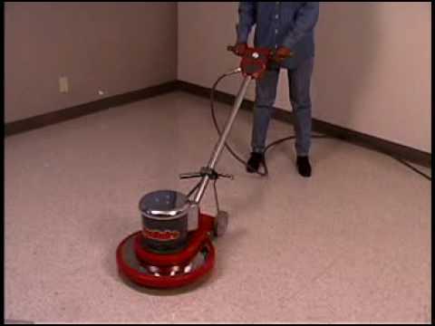 SC6010 Floor Machine Floor Buffer Floor Scrubber