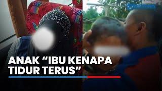 Download Video Ibunya Meninggal di Bus Primajasa, Anak Nurhayati Menangis Digendong Sopir: Mamah Kenapa Tidur Terus MP3 3GP MP4