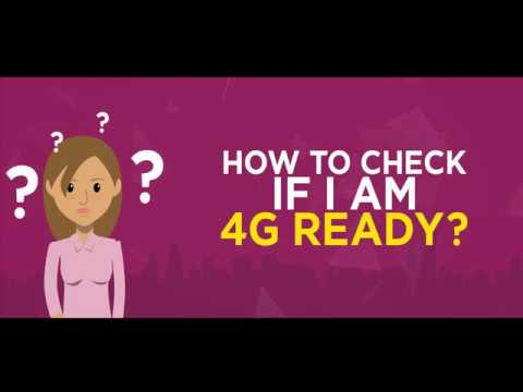 4G compatibility of the Device & SIM