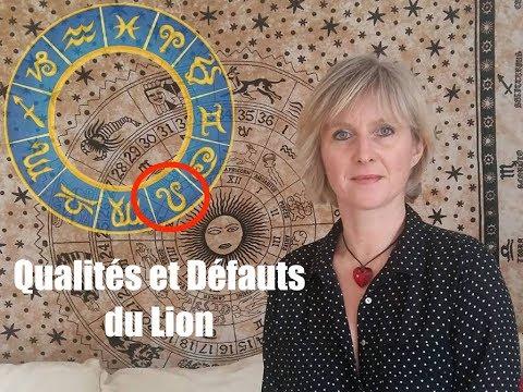 Les QUALITES et les DEFAUTS du signe du LION