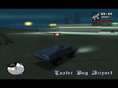 Gta San Andreas How To Get Swat Tank Without Suicide Youtube