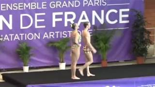 ЧЕМПИОНАТ МИРА RUSSIA Free mixed duet - 2018 French Open Montreuil