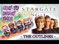 STARGATE SG-1 How to Draw - YukiTenshin