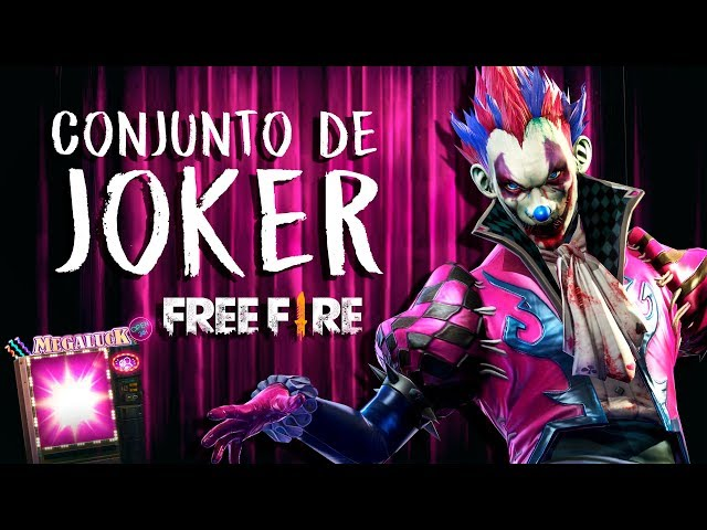 CONJUNTO DE JOKER - LUCK ROYALE FREE FIRE