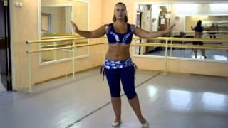 Он-лайн уроки танца живота: Baladi (часть 1 с комментариями)