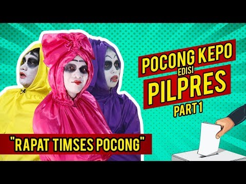 Video Pocong Lucu - Rapat Timses Pocong Kepo Part 1