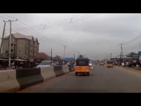 DRIVING IN ABA, ABIA STATE 20150226