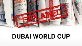 Explained: Dubai World Cup- the world's richest horse race