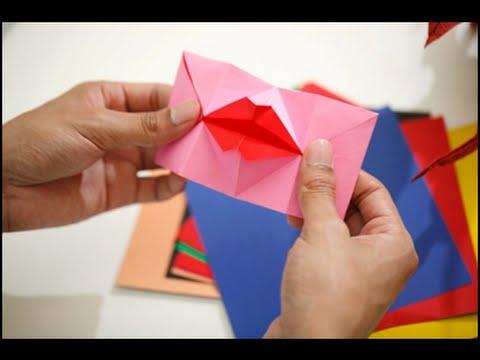 พี่ปอม ชมรมนักพับกระดาษไทย สอนพับกระดาษรูปปากจูจุ๊บ ในรายการ SAY PLAY