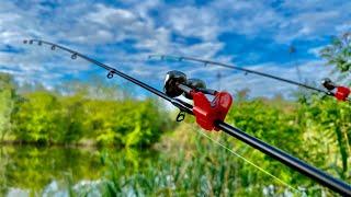 Рыбалка на ДНЕПРЕ на ФИДЕР/ПРУЖИНА
