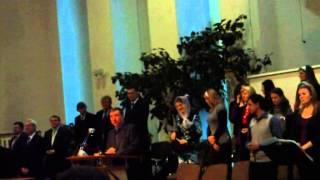 Воскресное богослужение в ц.Центральная г. Брест 2011 г.(вступительное слово и прославление в церкви ХВЕ г.Бреста., 2015-01-10T18:33:31.000Z)
