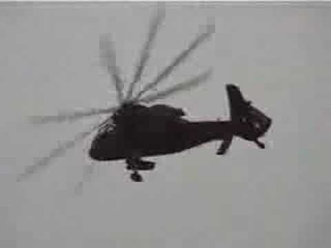 Japanese Military Helicopter. Ninja.  OH-1