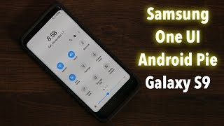 Galaxy S9 running Samsung One UI with Android Pie 9.0