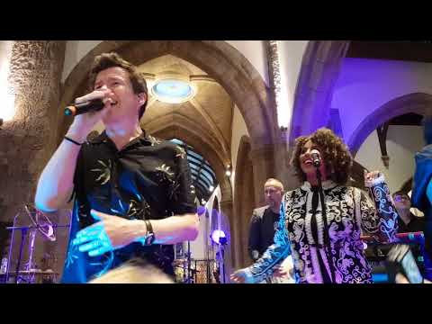 Never Gonna Give You Up, Rick Astley. All Saints Church, Kingston. 12/07/18
