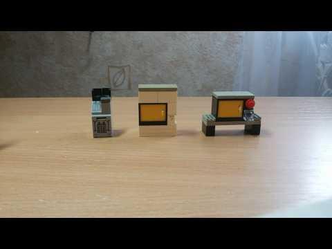 Лего самоделки. 3 самоделки #1
