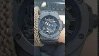 위블로 빅뱅 비트코인 한정판 시계