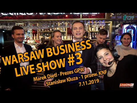 Warsaw Bussines Live Show #3
