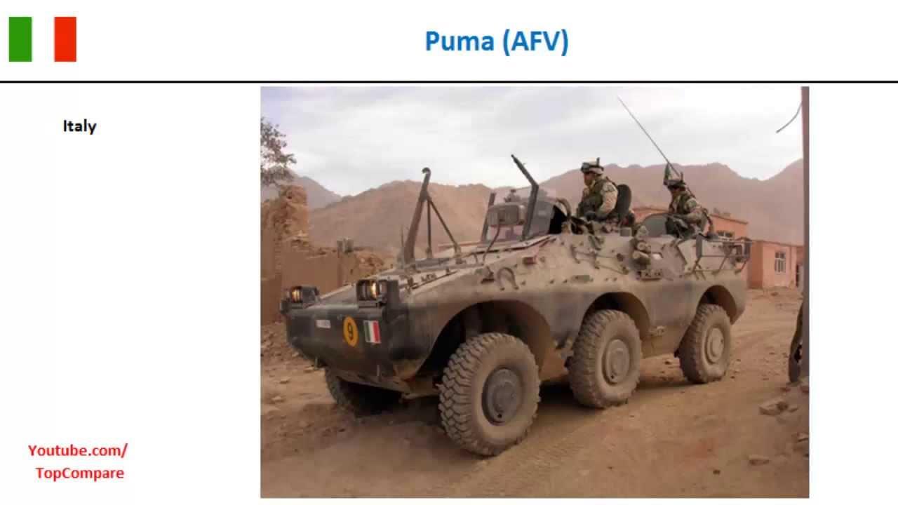 puma 6x6 afv