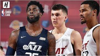 Utah Jazz vs Miami Heat - Full Game Highlights | July 7, 2019 NBA Summer League
