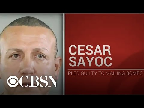 Cesar Sayoc pleads guilty to sending pipe bombs to Trump critics