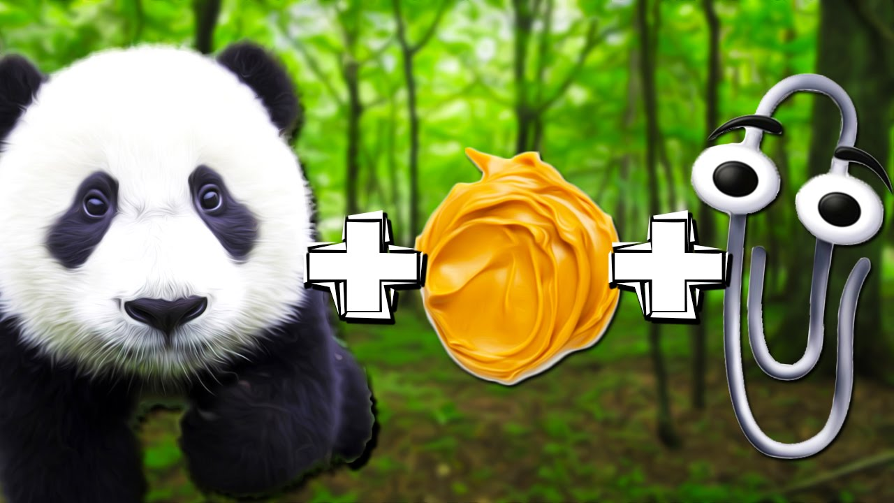 Panda Peanut Butter Paperclip Reading Your Comments 39 Youtube
