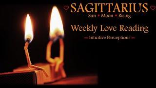 SAGITTARIUS - AUGUST 12-18 2018 LOVE TAROT READING