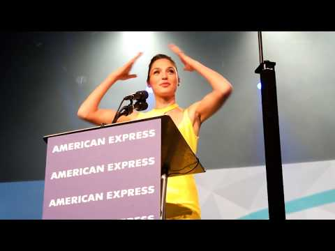 Gal Gadot - Rising Star Award, Actress - Palm Springs Film Fest - 1-2-18