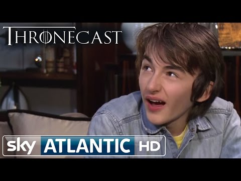 Game of Thrones Bran Stark  Isaac Hempstead Wright Thronecast