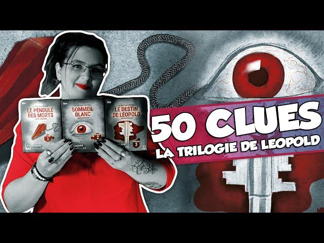 [À la découverte de ...] 50 CLUES chez Blackrock Games